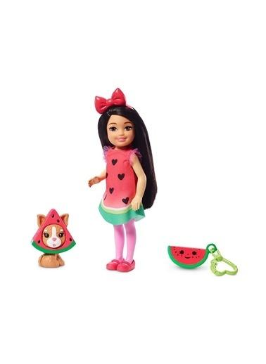 Barbie Kostümlü Chelsea ve Hayvancığı Oyun Setleri GHV69-GHV71 Renkli
